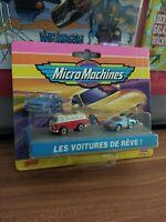 Micro Machines vintage Galoob NEU OVP MOC sealed Ideal les voitures de reve 90er