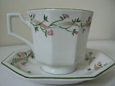"""""""Eternal Beau"""" Designed Cup & Saucer by Johnson Brothers"""