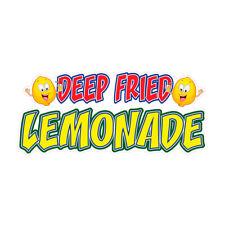 Deep Fried Lemonade Concession Restaurant Food Truck Die Cut Vinyl Sticker