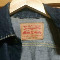 The Flat Head Jean Denim Jacket Size M