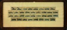 COLLECTION DE 34 COUVERTES DE ALLUMETTES. NAVIRES ARMEE ESPAGNOLE. ESPAGNE. 1931
