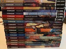Conan -- 18 TPB LOT!!! Kurt Busiek Cary Nord Tomas Giorello Brian Wood Greg Ruth
