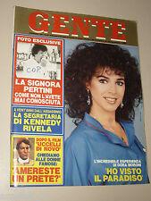 GENTE=1983/46=DORA MORONI=IRMA CAPECE MINUTOLO=ANTONIO CANTAFORA=CENACOLO 33=