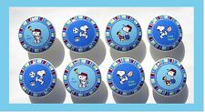 8 TEAM SNOOPY SPORT DRESSER  DRAWER KNOBS BOYS  MADE AS ORDERED