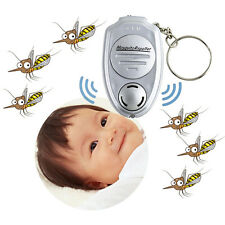 Electronic Ultrasonic Repeller Dispeller For Pest Mosquito Control Keychain