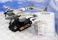 Motormax 1/60 Scale Model Aeroplane 76300 - P-38 Lightning