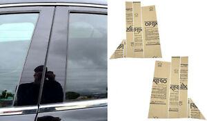 10 pc Door Piano Cover Black Pillar Posts Fit 08-16 Town & Country/Grand Caravan