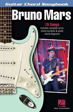 Bruno Mars Guitar Chord Songbook Sheet Music Guitar Chord Songbook 000125332