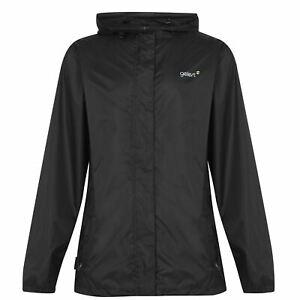 Gelert Mens Packaway Waterproof Jacket Coat Top Lightweight Hooded Zip Full