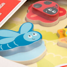 Wooden Puzzle Kids Dynamic Insect Toy Puzzle Hape