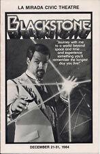 TEN 1970/'S  YOU GET 10 MAGIC SHOW FLYER COPIES!!!! HARRY BLACKSTONE JR