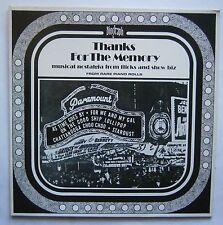LP Various - Thanks For The Memory Rare Piano Rolls Holland Biograph Doug Roe