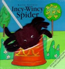 Incy Wincy Spider (Finger Puppet Books) by George, Katie Hardback Book The Fast