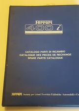 De Repuesto Parte Libro / Catálogo Piezas Repuesto/Catalogo Di Ricambio Ferrari