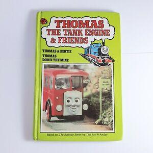 Thomas The Tank Engine Childrens Book  Thomas & Bertie Thomas Down The Mine 1985