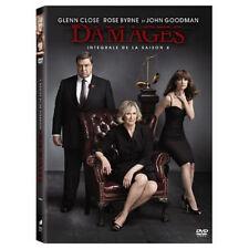 DAMAGES - INTÉGRALE SAISON 4 - GLENN CLOSE - 3 DVD SET - NEUF NEW NEU