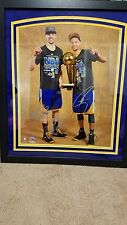 STEPH CURRY/KLAY THOMPSON GOLDEN STATE SIGNED 16X20 PHOTO W/INSC FANATICS COA