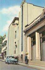 Linen Postcard; Entrada al Club Internacional, San Salvador, El Salvador C.A.
