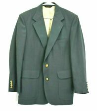 Hardwick Clothes Men's Long Sleeve 2 Button Front Lined Blazer Suit Jacket Green