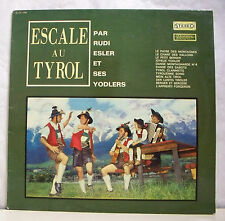"""33 tours RUDI ESLER Disque Vinyl LP 12"""" ESCAL AU TYROL - MUSIDISC 1094"""
