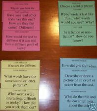 FOUR RESOURCES MODEL TEXT CARDS - teacher resource