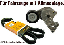 Keilrippenriemen+Riemenspanner Für AUDI A3 (8L1)  1.9 TDI