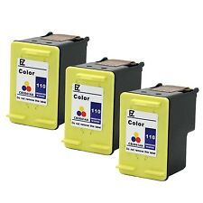 3PKs  HP 110 Ink Cartridge CB304AN For PhotoSmart A314 A420 A610 A630 A640 A710
