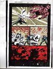 1993 Moon Knight 50 page 34 original Marvel Comics color guide comic art: 1990's