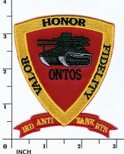 USMC 3rd Anti-Tank Battalion ONTOS Smaller Cap PATCH Marines ! Vietnam 3d AT Bn