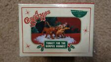Dept. 56 A Christmas Story Turkey for the Bumpus Hounds! 809442 New