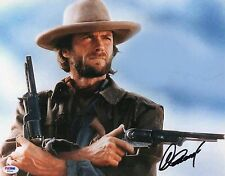 Clint Eastwood Signed 11x14 Country Western PSA DNA COA Autograph Legend