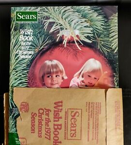 1977 Sears Christmas Catalog Vintage (one known page missing)