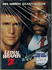 Lethal Weapon 2 (DVD, 1997, Standard and letterbox) New Factory Sealed