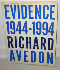SIGNED Richard Avedon Evidence 1944 1994 Retrospective 50 Years Whitney Museum