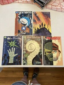 DC Comics The New Frontier Comic Book lot 1, 3-6