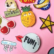 5PCS Gift Kids Brooch Pin Acrylic Cartoon Shirt Collar Badge
