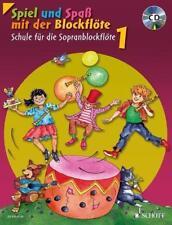 Spiel und Spaß mit der Blockflöte von Gudrun Heyens, Band 1 mit CD