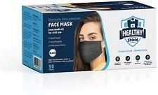 50 Pcs Black Face Mask Mouth Amp Nose Protector Respirator Masks Usa Seller