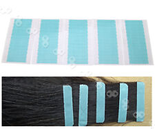 60 x Pre-Cut Double Sided Adhesive Super Tape for Skin Weft & Hair Extensions