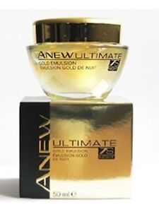 Avon -ANEW- Ultimate Night- Gold Emulsion 50ml, sealed, boxed