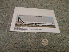 TwoSix decals 1/144 Set# 144-217 Alitalia Airbus A321                        G93
