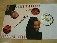 Maxi Single LP Bobby McFerrin Don't Worry Be Happy Vinyl EMI 060 20 2891 6