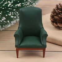 1/12 Dollhouse Sofa Backrest Chair Mini Chair Furniture Model Doll House DecQA