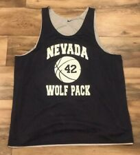 Nevada Wolfpack Vintage Nike Reversible Team Issue College Basketball Jersey 3XL