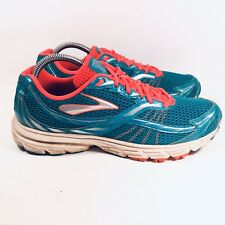 Brooks Launch 4 Womens Running Shoes Sneakers Pink Turquoise US 10 M