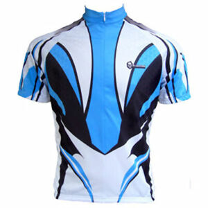 """Franklin Cycling Jersey / Blue Dasher / UK size XL(42-43""""chest) / Full Zip"""
