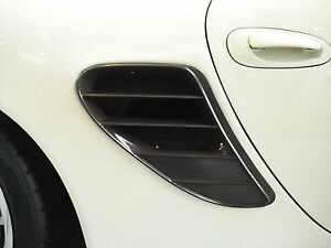 Porsche 986 Boxster to 987 style Side Vents update New