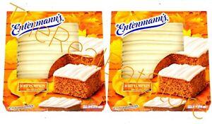 2 Entenmann's Iced Pumpkin Cake 18oz