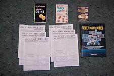 BOOK LOT; KRAUSE WORLD PAPER MONEY,OFFICIAL BLACKBOOK,COIN DEALER GREYSHEET,MORE
