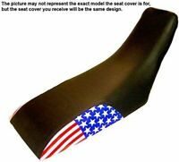 Honda CR500 1984 US Flag Dirtbike ATV Seat Cover #8601